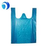 Хозяйственная сумка пластмассы мешка пластичной тенниски нестандартной конструкции упаковывая