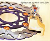 Bloqueo de sistema dominante de oro del disco de la bicicleta de la alarma de Twoeagles pequeño