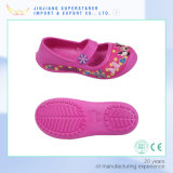 Chaussures EVA Kids Sandals, Sandales Flat Girl Sandales avec sangle fixe