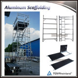 Systeem van de Steiger van de Breedte van de Steiger van het Frame van de Legering van het aluminium het Dubbele met Gietmachine