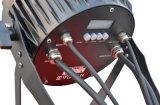 12 piezas de alta potencia 18W de luz LED IP 65 Lista de precios de la luz de par plana