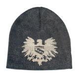 Sombrero hecho punto telar jacquar con el pompón (JRK208)