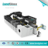 Double machine de durcissement en verre plat de chambre de Landglass