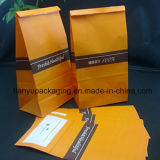 Saco de papel do armazenamento durável perfeito do petisco do alimento do saco do almoço do papel de embalagem