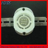 RoHS pasan 10W de alta potencia LED azul para iluminación subacuática (HH-10BM1HB33M-LED).