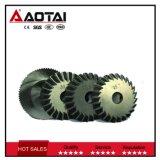 Corte orbital y carrocería de aluminio Osr-120 del tubo del centro automático de Aotai de la máquina que bisela