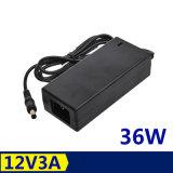 36W 12V 3A Notizbuch-Stromversorgungen-Laptop-Adapter