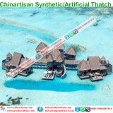Естественный смотря Thatch листьев ладони Thatch пожаробезопасного водоустойчивого синтетического Thatch искусственний в Мальдивах Бали