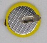 Ml3032 3V recargable de litio batería botón con pasadores y etiquetas para Bluetooth