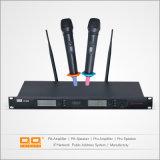 OEM-Профессиональный двухканальный ОВЧ для использования вне помещений детектива Беспроводная мини-конденсаторный микрофон