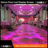 Maxv 3D leggero RGB P10 LED interattivo Dance Floor per lo schermo del video di Discolight