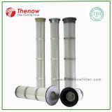 Cartucho de filtro de ar longo pulso Jet para filtração de alta concentração de poeira