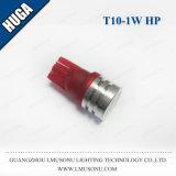 C.C. interior 12V da lâmpada dos bulbos do carro do diodo emissor de luz do poder superior de T10 1W auto