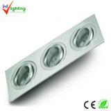 아래로 LED 가벼운 3W/9W (DL-3X1X1W-YL2201)