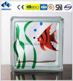 Jinghua artístico de alta qualidade P-25 Pintura de tijolo/bloco de vidro
