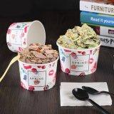 Cuenco del helado, helado de Copa / tinas, helado de la taza de papel