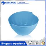 Bol rond de logo de vaisselle de potage normal fait sur commande de mélamine