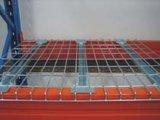 Um deck de malha de arame