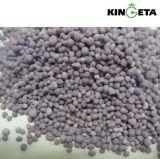 Kingeta中国隊NPK 17-17-17の青い粒状肥料