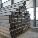 Acero laminado en caliente de la viga del acero H para los materiales de construcción de la estructura