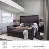 Новая мебель спальни гостиницы конструкции 2016 обитая с тканью