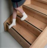 Eingebettete Karborundum-Einlage-dekorative Treppe, die für hölzerne Treppen-Schritte riecht