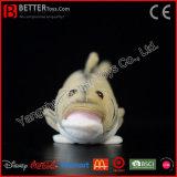 채워진 물 동물 연약한 큰입 농어 견면 벨벳 물고기 장난감