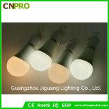 LED recargable inteligente linterna de agua bombilla 9W lámpara de emergencia