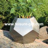 Fo9015フットボールのステンレス鋼の花プランター