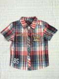 Рубашка 2016 малышей способа для мальчика в детях одевая Sq-6245