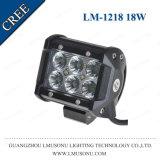 10-30V 4 indicatore luminoso 18W del lavoro dell'indicatore luminoso di azionamento di pollice LED LED