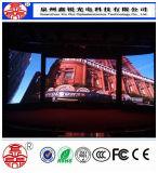 P6 alta visualización de pantalla a todo color de interior ligera del brillo HD LED para el funcionamiento de la etapa