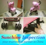 Prams, Baby-Wanderer und Baby-Spaziergänger-Qualitätsinspektion-Service in China