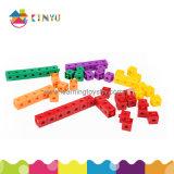 Pädagogische Spielzeug-/Gebäude-Verschluss-anschließenwürfel für feine Bewegungsfähigkeiten