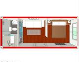 20-футовый контейнер для пакета с плоским экраном дом сегменте панельного домостроения домов