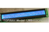 tipo módulo alfanumérico da ESPIGA 40X2 do LCD do indicador do LCD do caráter (LMB402C)