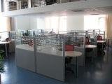 Sitio de trabajo de la oficina con la pantalla (D32-P2)