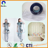 Пленка PVC пластмассы 0.10mm-0.17mm нормальная ясная гибкая для мешка упаковки
