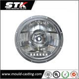 O bulbo claro do diodo emissor de luz Housing/LED que abriga a liga de alumínio morre a carcaça