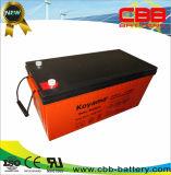Batterie d'acide de plomb 200ah 12V de batterie en attente chaude de vente