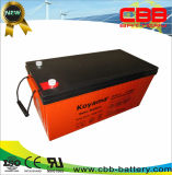 Bateria acidificada ao chumbo 200ah 12V da bateria à espera quente da venda