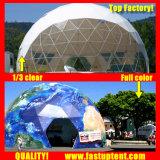 Meilleur châssis en acier 12m de diamètre dôme géodésique tente pour l'événement