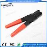 Ferramenta da compressão do cabo do CCTV para o conetor de F (T5008)