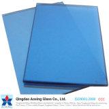 Donkerblauw Weerspiegelend Glas voor Vensters en Deuren
