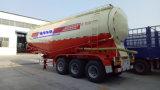 petrolero a granel del cemento 45m3/3axles semi del acoplado del carro