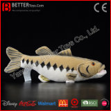 Brinquedo macio enchido dos peixes do luxuoso do baixo Largemouth de animal aquático