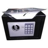 Mini cassaforte domestica dell'impronta digitale alla moda moderna del metallo con il portello interno