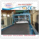 2000mm máquina de folha de drenagem ondulado de HDPE
