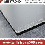 PVDF 정면을%s 방화 효력이 있는 알루미늄 벽 클래딩