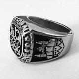 Nieuwe Muhammad Ring Dame Ring Roestvrij staal voor Verschepen van de Daling van de Gift het Vrije